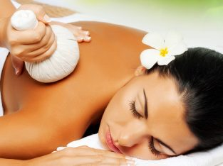 Full body treatment and foot massage