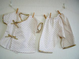 Sewing Baby Cloths