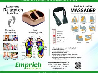Emprich Electric Foot Massager/Whole Body Massager/Water Filter Jug