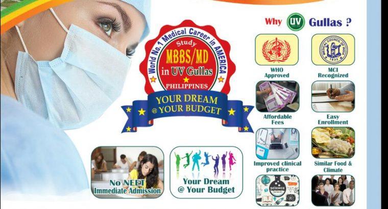 STUDY MBBS @ UV GULLAS, CEBU, PHILIPPINES AND WORK @ USA