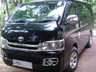 Rent vehicles and Tours can be arranged in and around Srilanka.