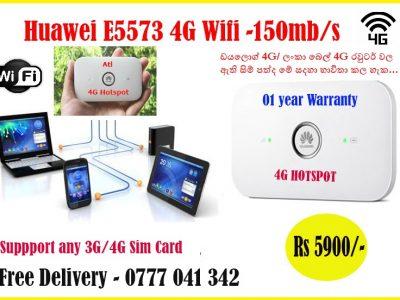 Huawei E5573 Portable 4G Wifi Hotspot