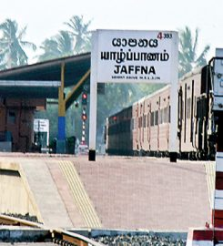 Jaffna railway station