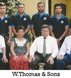 W Thomas and Sons