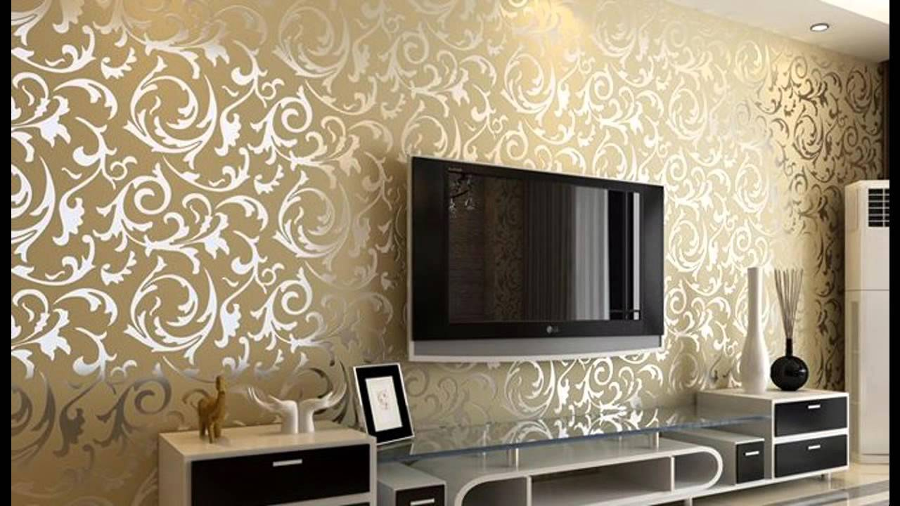 The era of the wallpaper real estate visit sri lanka for Wallpaper living room ideas